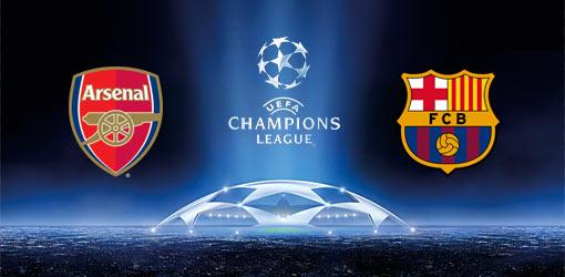 Арсенал, Барселона, Лига чемпионов УЕФА